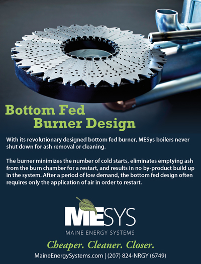Bottom Fed Burner Design